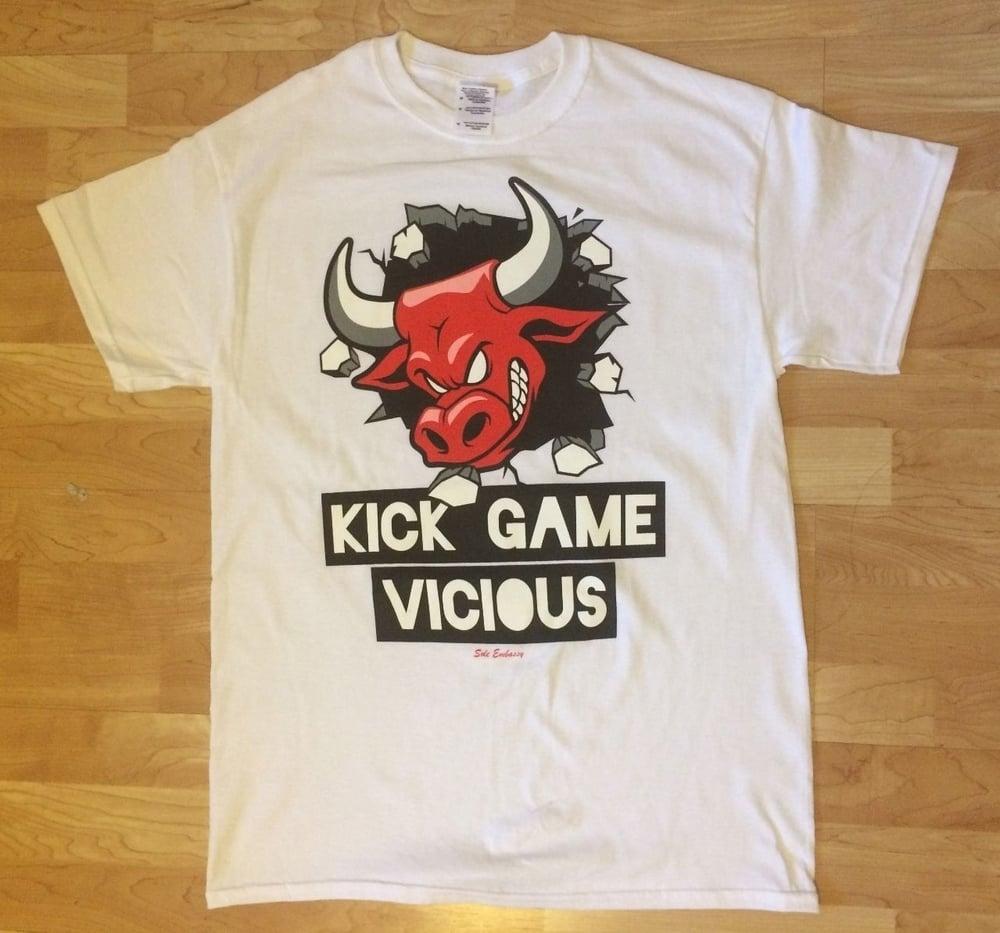 94d42eda4f99 Kick Game Vicious T Shirt TO Match Air Jordan Retro 6 Carmine   Sole ...