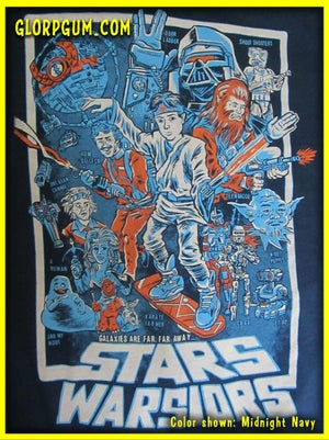 Stars Warsiors T-Shirt
