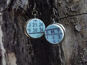 Image of Calendar Earrings