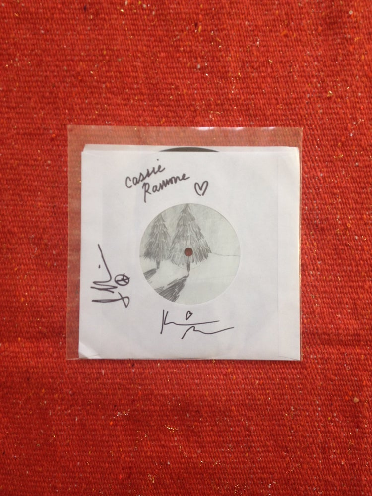 "Image of All Things b/w Caroline 7"" Autographed"
