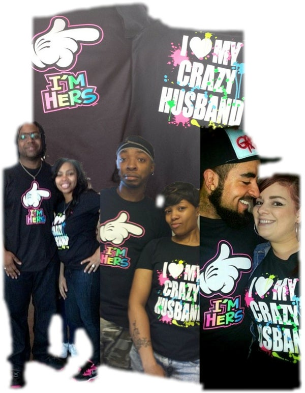 Image of I'm Hers/Crazy husband  Crazy Combo pack