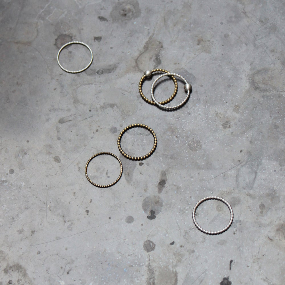 Image of Dotted Rings