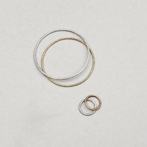 Image of Beaten Bracelets + Rings