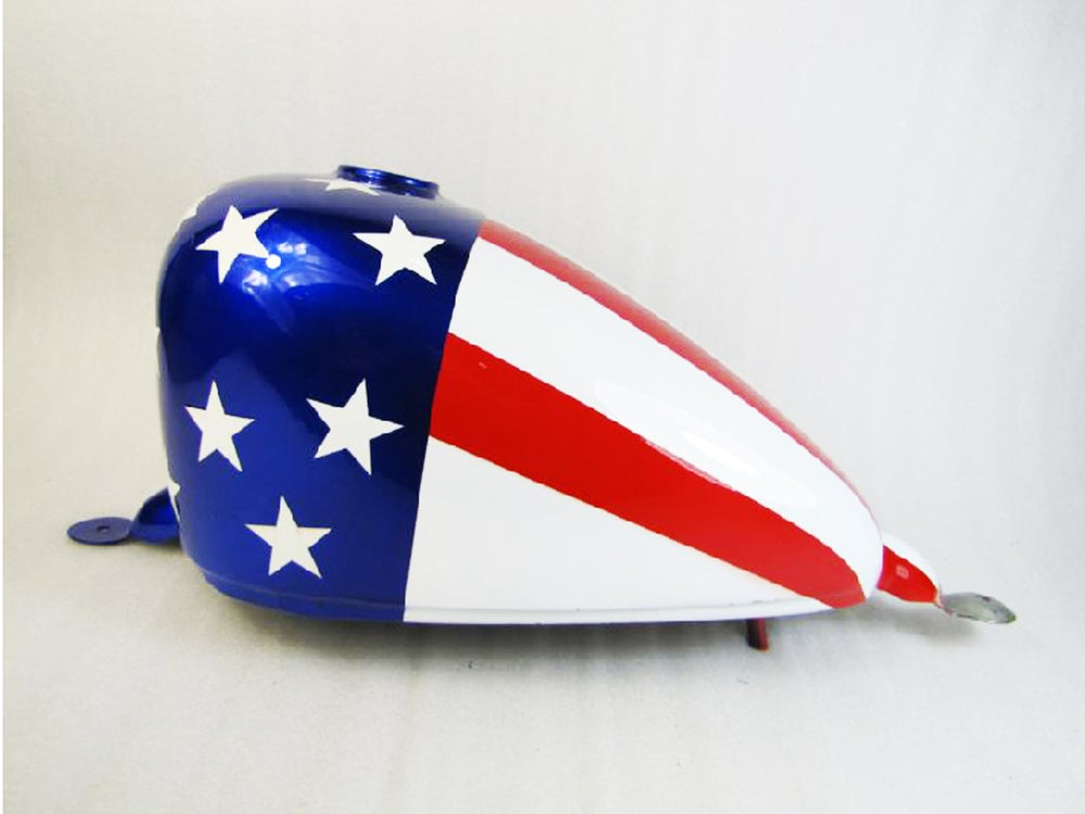 Image of Cafe Racer Honda Steed 400 / 600 Fuel Tank/ Gas Tank - B