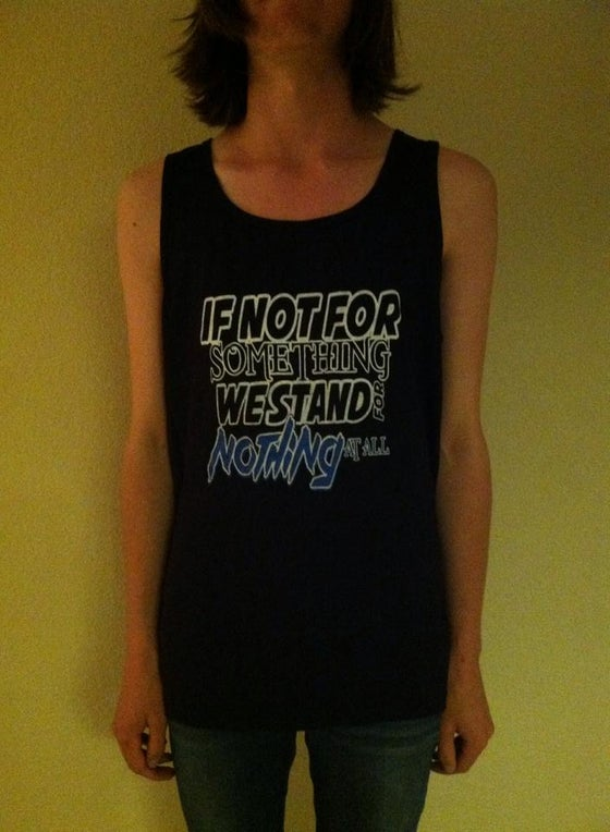 "Image of Memphis Whiskey ""If Not For Something"" Tank Top"