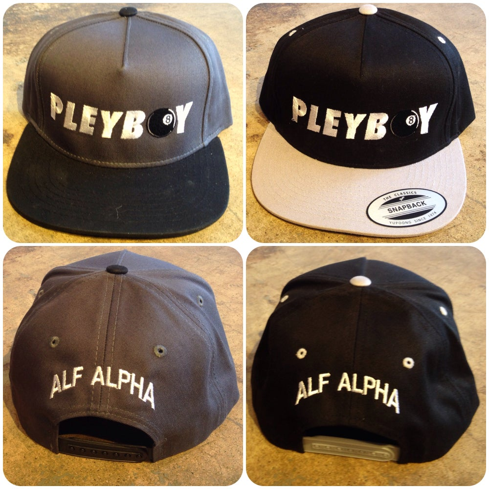 Image of Pleyboy Snap Back Hats