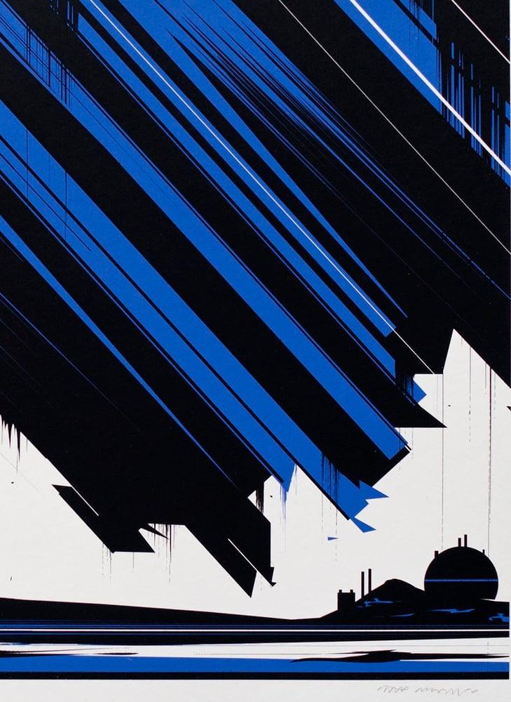 Image of 'Krypton' Screenprint ARTIST PROOFS