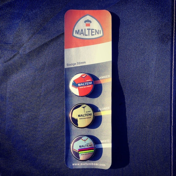 Image of Malteni set of 3 badges