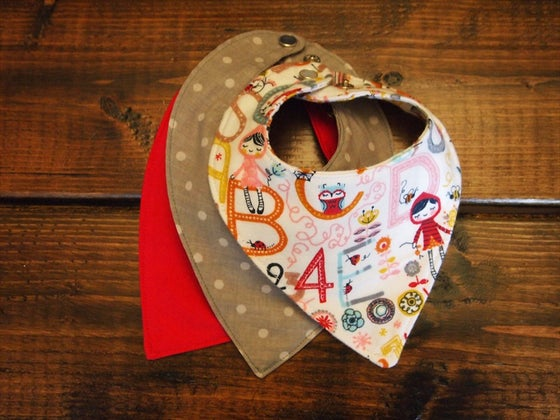Image of the harlee baby neckerchief
