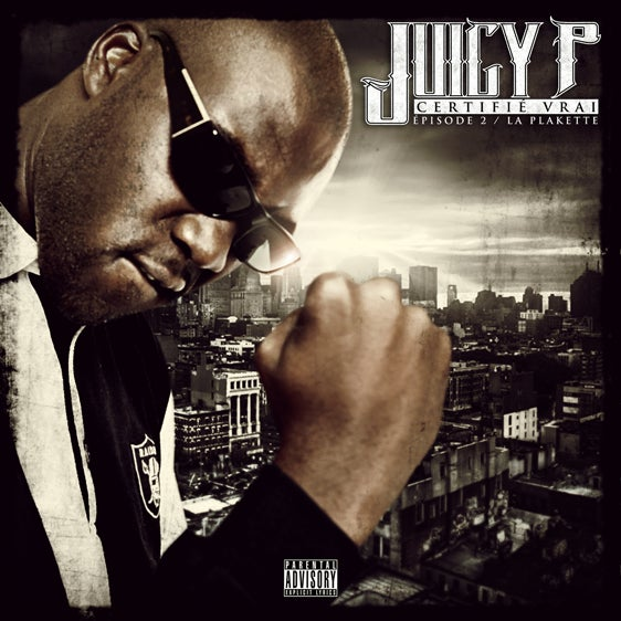 Image of JUICY-P CD CERTIFIE VRAI 2- LA PLAKETTE
