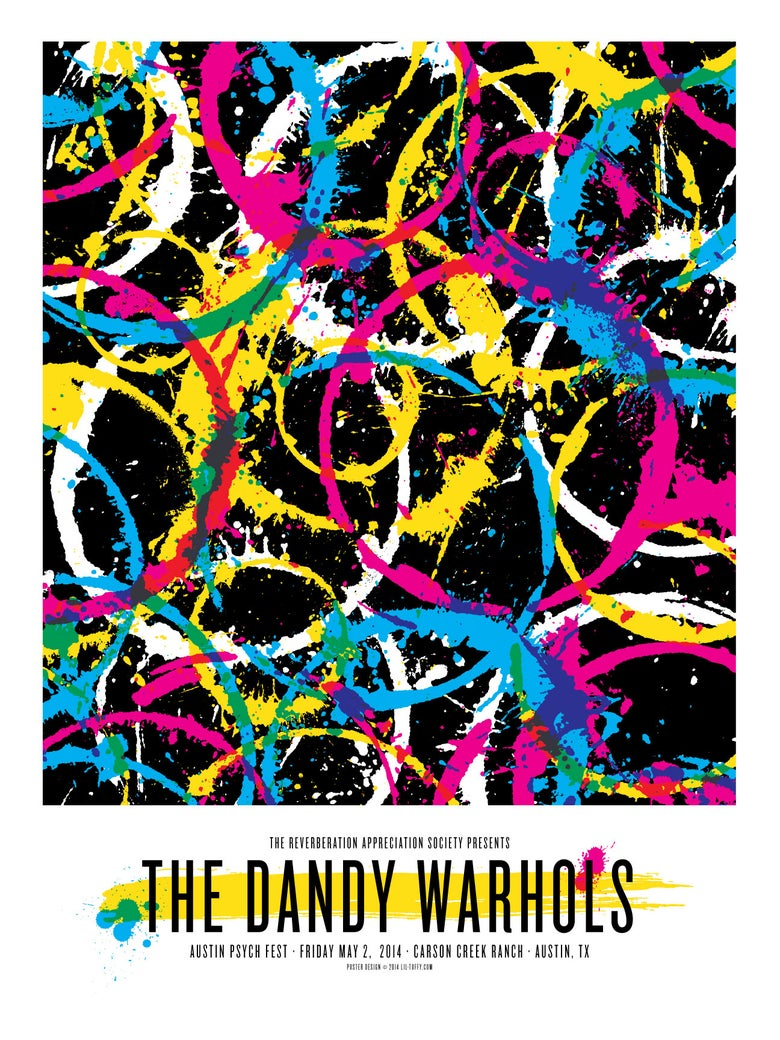 Image of The Dandy Warhols - Austin Psych Fest 2014