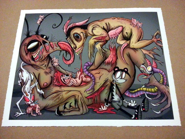 "Image of ""Pestilence and Vermin""- Limited Giclée Print"
