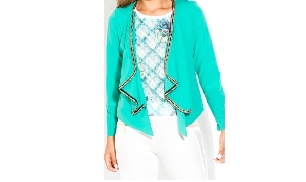 Image of Chain Accent Blazer
