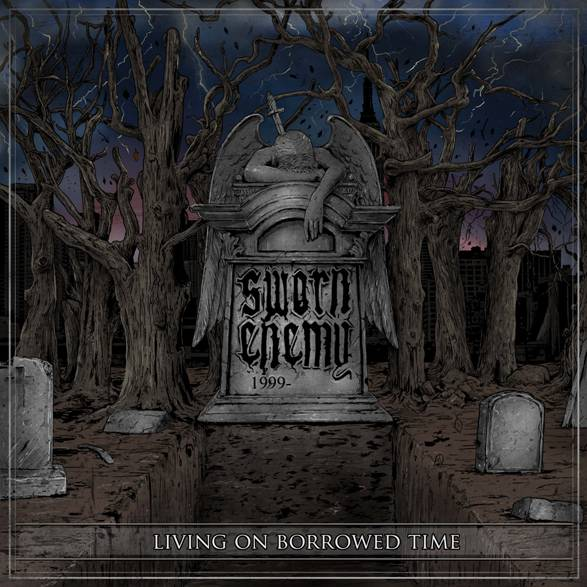 "Image of SWORN ENEMY ""Living On Borrowed Time"" CD"