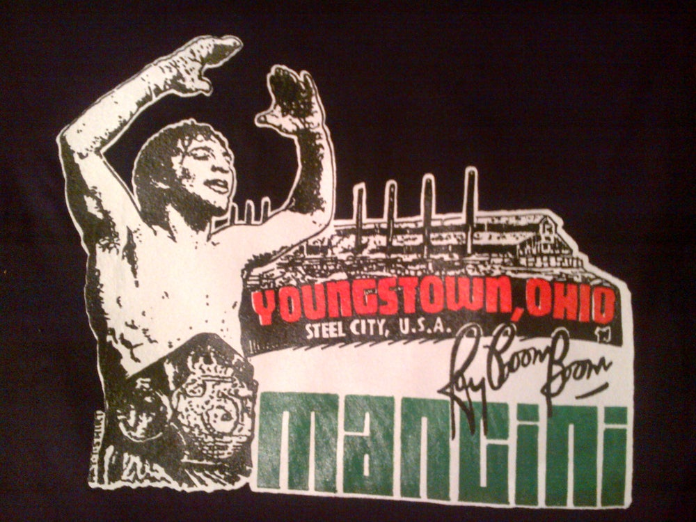 "Image of Ray ""Boom Boom"" Mancini ""Youngstown Pride"" tee"