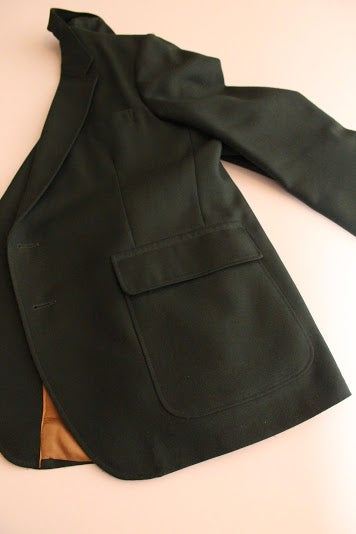 Image of Vintage Green Blazer