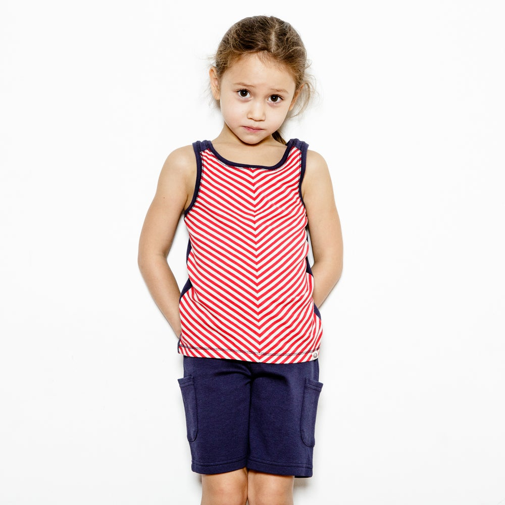 Image of Pull Me Up Shorts . Indigo