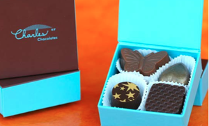 Image of Charles Chocolates 2-piece or 4-piece Favor Box