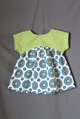 Image of Girl's Izzy Top, 4T, Handmade, Finished Shirt, Ready to Ship
