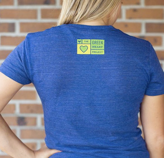 Image of Women's Green Heart Classic Tee