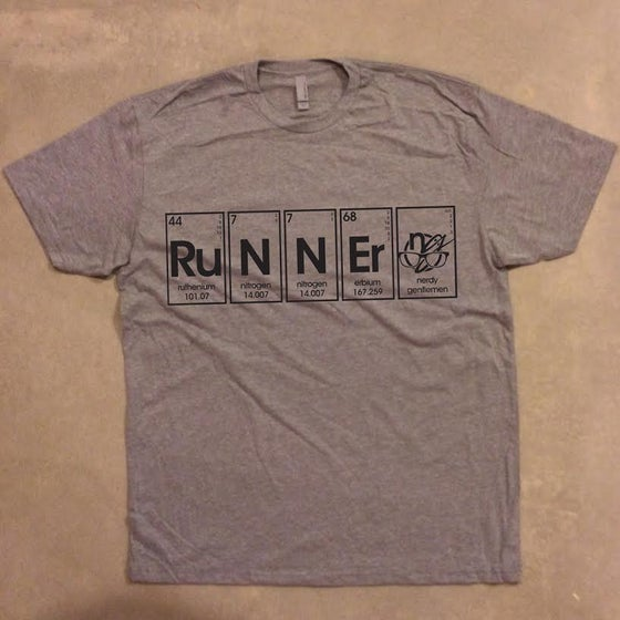 Image of periodic runnerd. - graphic tee