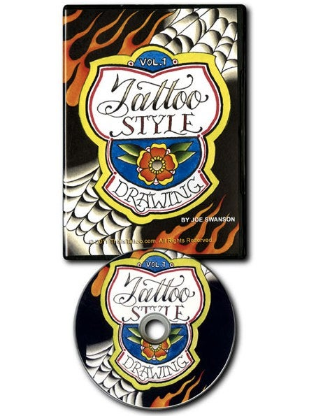 Image of Tattoo Style Drawing DVD - Volume 1