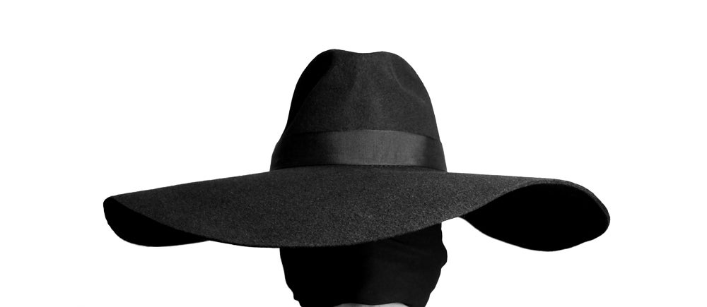 Image of Wool Brim Fedora Hat - 004