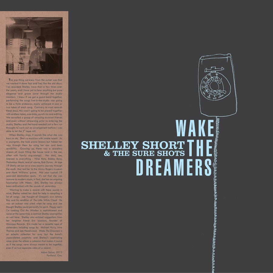 Flippin Yeah Records Shelley Short Wake The Dreamers