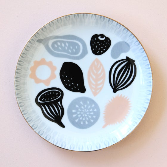 Image of Grey Leaves - Platter