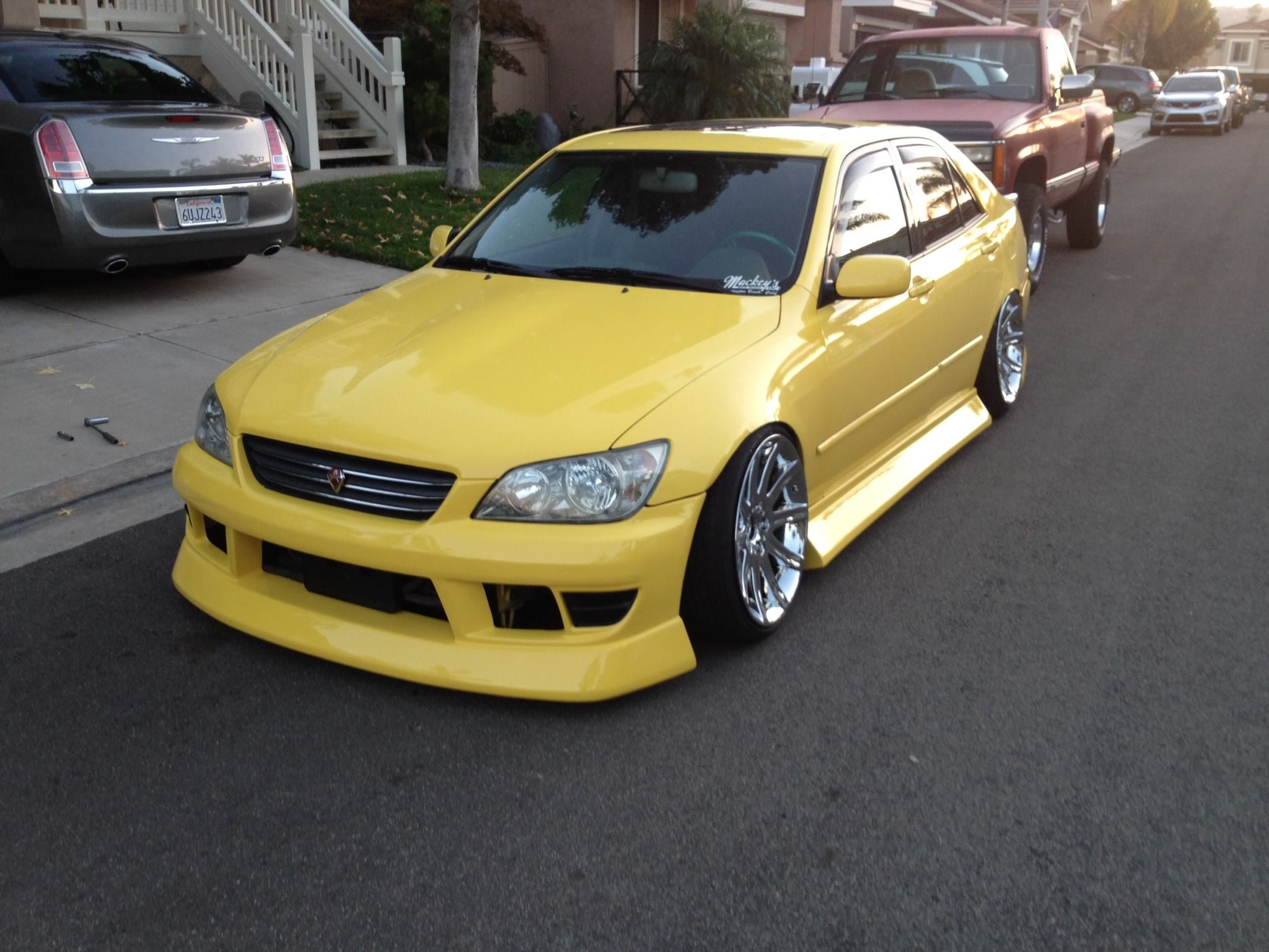 Mbn Lexus Is300 Bodykit 1998 2005 Fineline Tuning