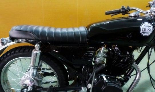 Image of Honda CG125 Flat Seat