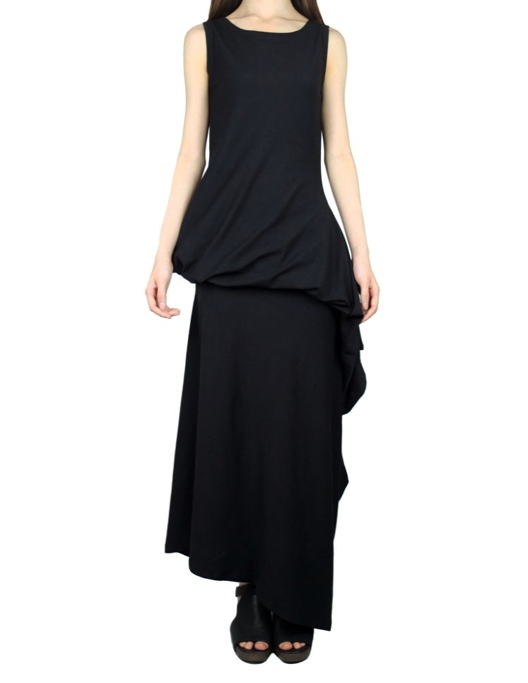 Image of Multi-Way Asymmetric Long Dress