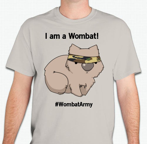 Image of Wombat Army T-Shirt