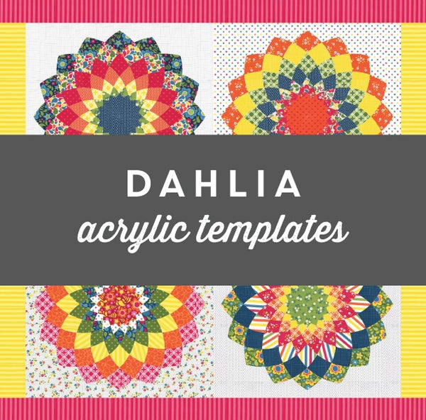 Image of Dahlia Acrylic Templates