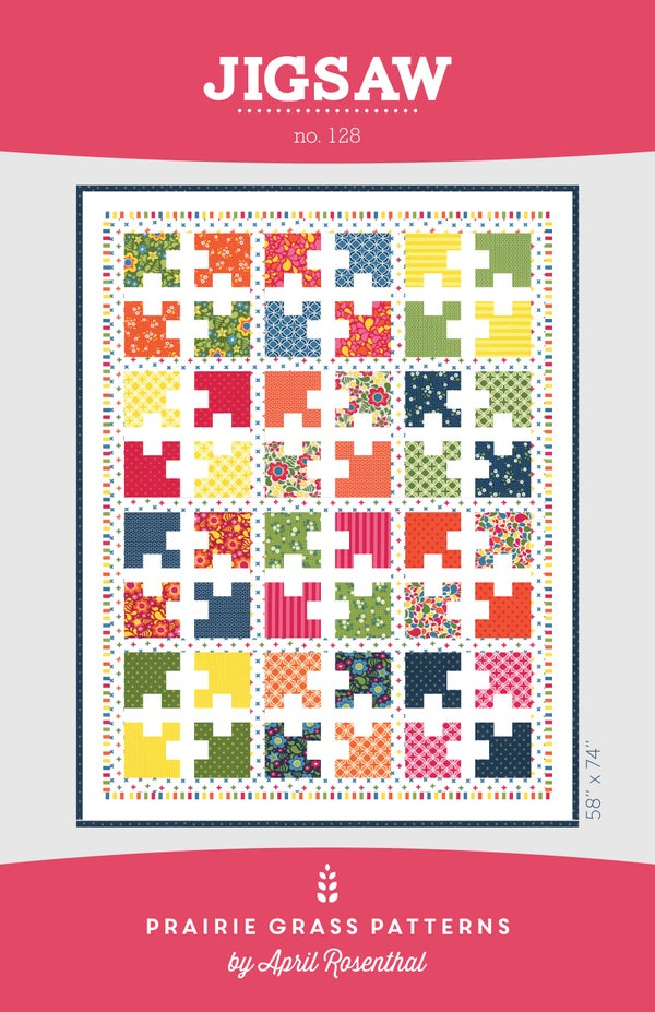 Image of Jigsaw: Quilting Pattern #128