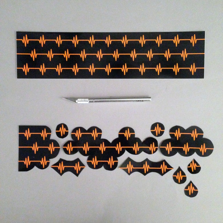 Image of EKG Modular Sticker System