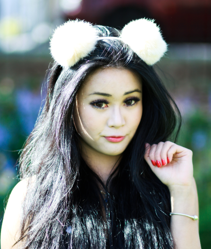 Image of Fluffy Animal Ears - Various Colours