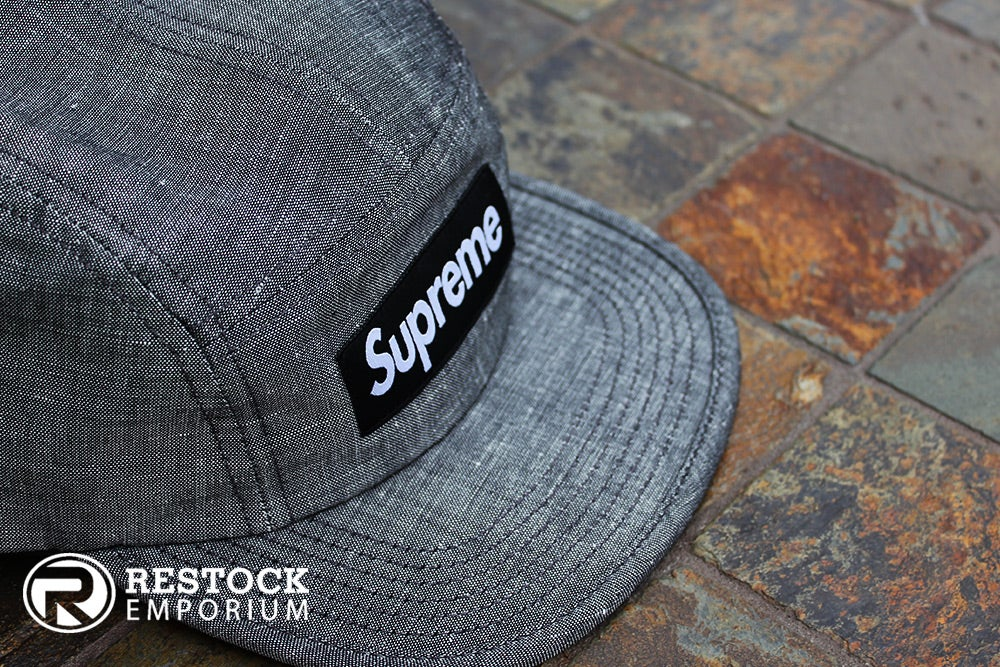 Image of Supreme - Melange Camp Cap
