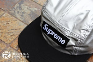 Image of Supreme - Metallic Camp Cap