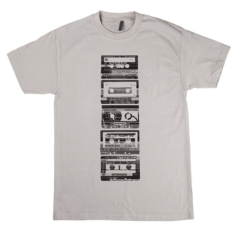 Cassette Tapes Row
