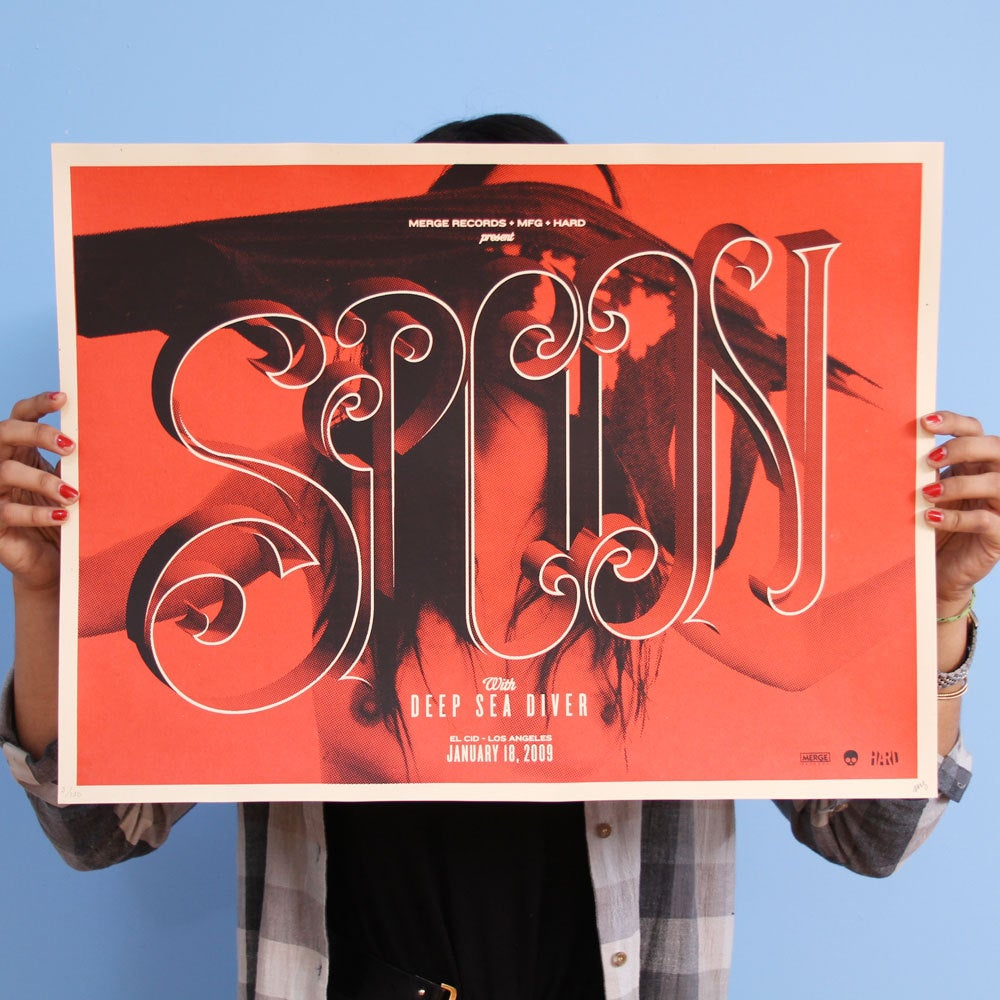 Image of SPOON EL CID POSTER