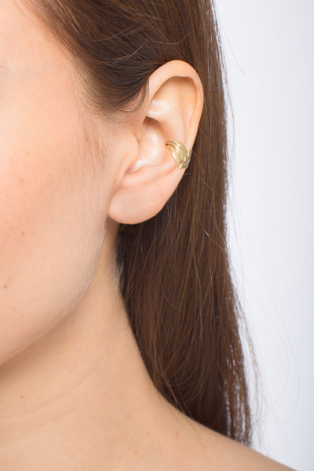 CUTLASS EARCUFFS - SILVER