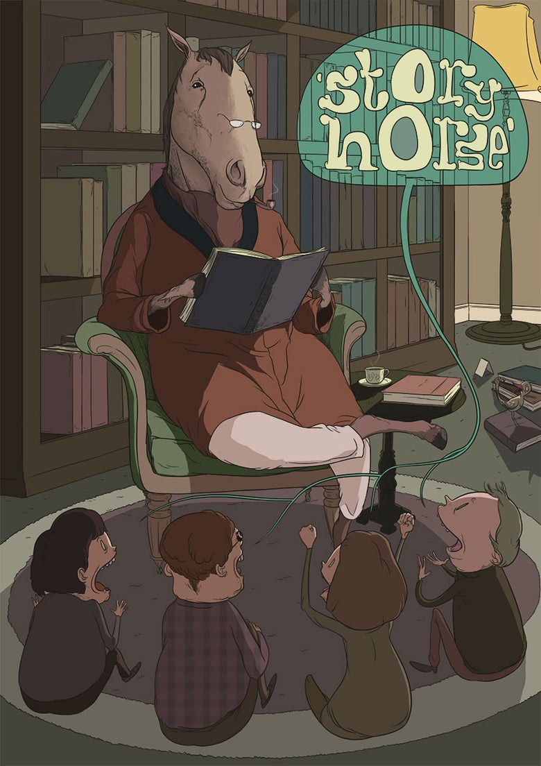 Image of Story Horse