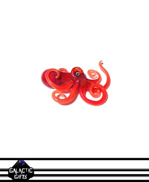 Image of Jennifer Umphress Yellow Over Red Octopus Pendant