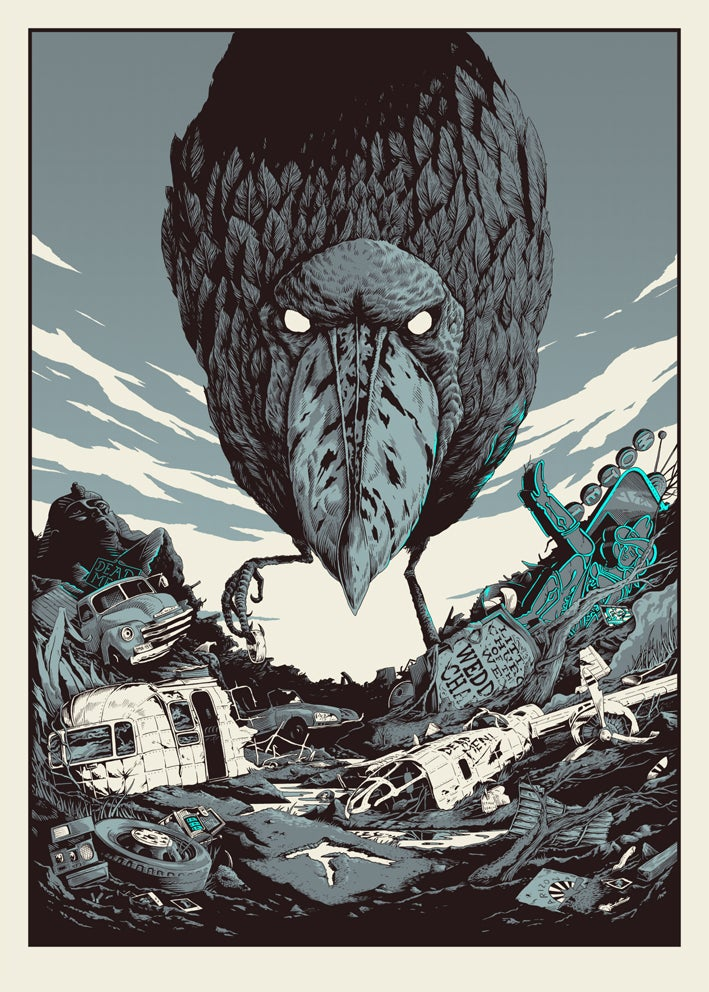 Image of  The Shoebill- Limited edition screen print