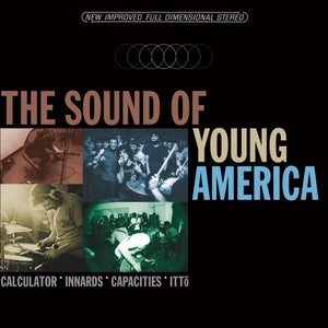 Image of Calculator / Innards / Capacities / Ittō - The Sound of Young America 4-way Split 12""