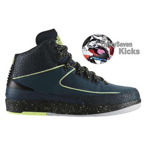 "Image of Jordan Retro 2 ""Nightshade"""