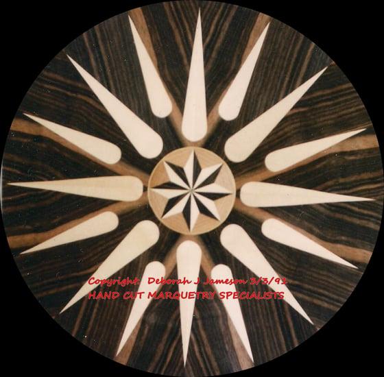 Image of Item No. 142. Nautical Compass Star.
