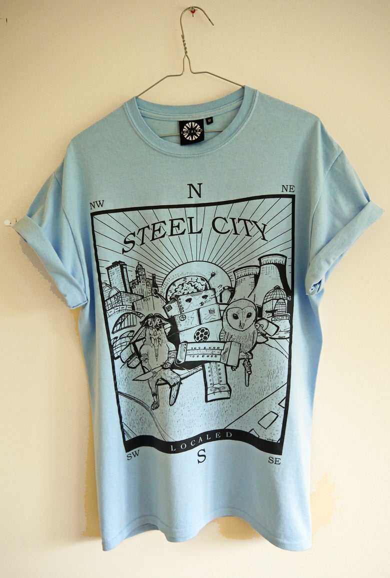 Image of Steel City (Blue)