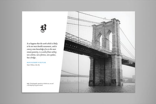 Image of Brooklyn Bridge Booklet (24 pages)